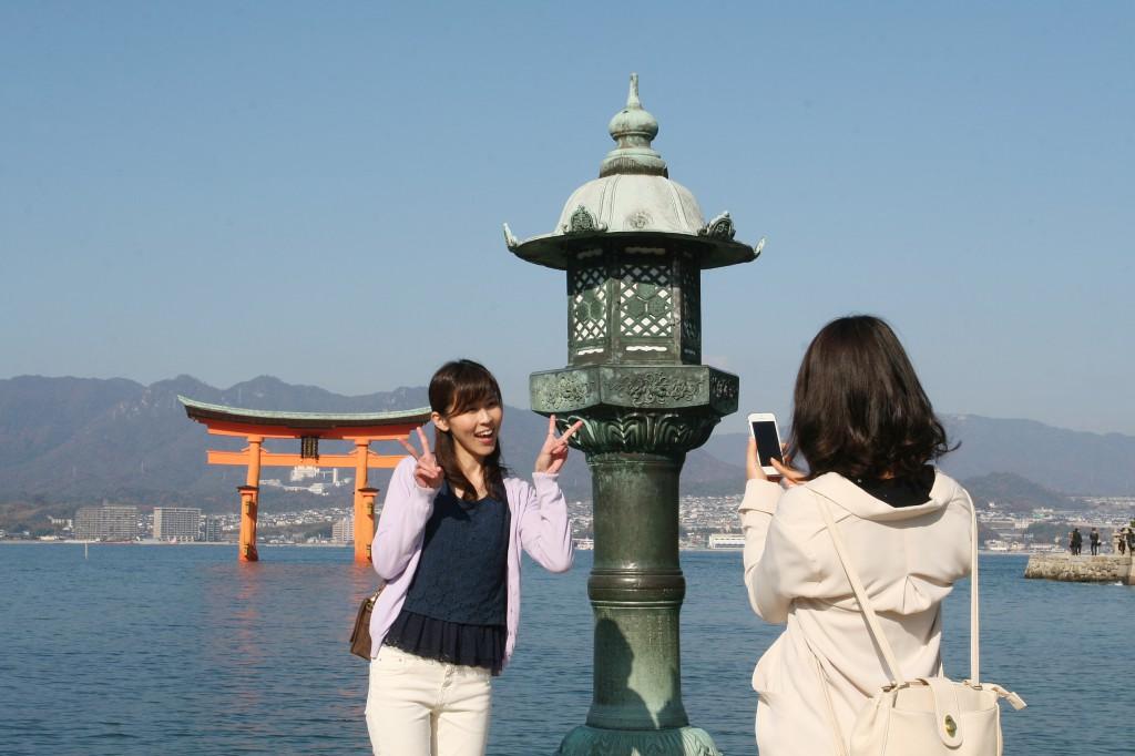 厳島神社見所