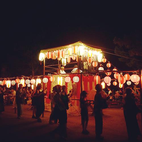宮島踊りの夕べ?