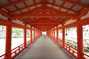 厳島神社 回廊