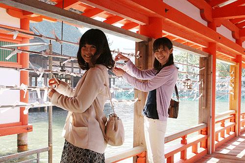 厳島神社 各所