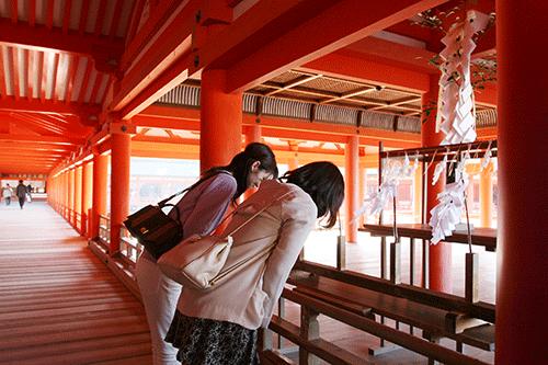 厳島神社 祓い所